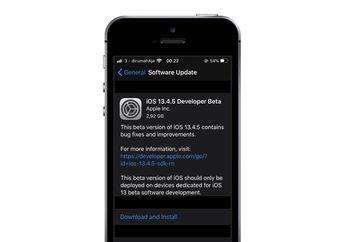 Apple Rilis iPadOS dan iOS 13.4.5 Beta 1 untuk Kalangan Developer