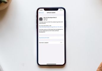 Tutorial Update iOS 13.5 Public Beta di Perangkat iPhone, iPad