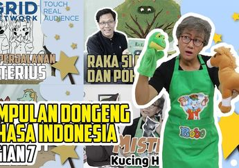 Kumpulan Dongeng Anak Bahasa Indonesia Bagian 7 #MendongenguntukCerdas