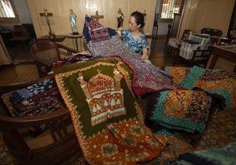 Sajadah Covid Lasem Kisah Kolaborasi Batik Lumintu dan Didiet Maulana