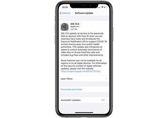 Update iOS 13.5 Golden Master Sudah Dapat Diunduh