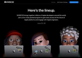 Jadwal Lengkap WWDC 2020 Dibagikan, dari Keynote Hingga Developer Labs