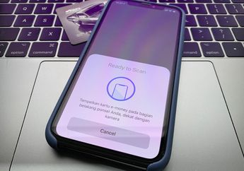 Tutorial Cek dan Isi Saldo e-money Lewat Mandiri Online di iPhone