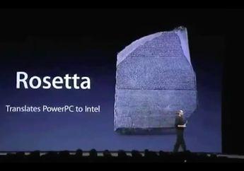 Kilas Balik Rosetta, Jembatan untuk Teknologi PPC dan Intel di 2005