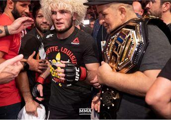 Tanpa Abdulmanap, Khabib Nurmagomedov Sulit Menjadi Juara Bertahan UFC