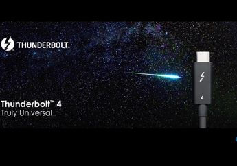 Intel Umumkan Teknologi Thunderbolt 4, Apa Kelebihannya?