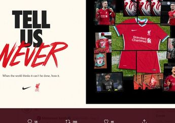 Serba-serbi Jersey Liverpool 2020-2021 Nike - Harga, Sejarah dan Slogan