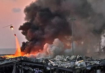 Ledakan Guncang Ibu Kota Lebanon, Berikut Fakta yang Diketahui