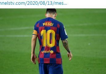 Barcelona Kalah Memalukan, Lionel Messi Cs Digeruduk dan Dicaci Maki