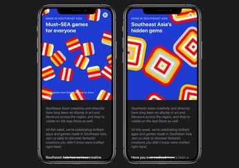 App Store Promosikan Aplikasi dan Games Karya Pengembang Asia Tenggara