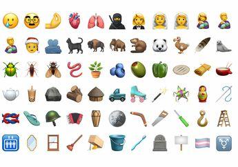 Daftar Emoji Baru Tampil di iOS 14.2: Bubble Tea Hingga Sikat Gigi