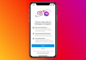 Resmi, Fitur Facebook Messenger dan DM Instagram Kini Digabungkan