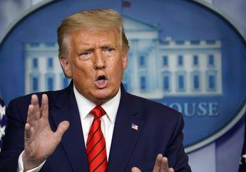Presiden AS Donald Trump Positif COVID-19