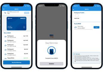 Update Aplikasi BRImo Mendukung NFC untuk Cek dan Isi Saldo BRIZZI