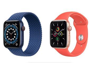 Daftar Harga Apple Watch Series 6 dan Apple Watch SE di Indonesia