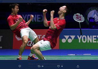 Olimpiade Tokyo 2020 - Marcus/Kevin & Ahsan/Hendra Bisa Kawinkan Medali Emas & Perak Ganda Putra