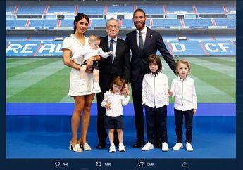 Sergio Ramos Perpisahan dengan Real Madrid, Anaknya Jadi Korban Bullying
