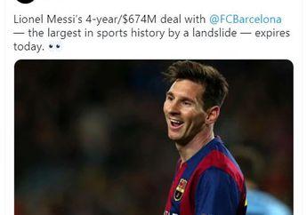Cerita di Balik Mural Lionel Messi - Pahlawan dari Galaksi Lain Bernama Rosario!