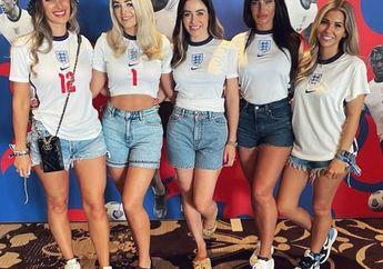 EURO 2020 - Timnas Inggris Berjaya di Medan Perang, WAGs Sambut Kepulangan dengan Pelukan Kasih Sayang