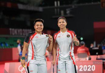 Hasil Olimpiade Tokyo 2020 - Tumbangkan Ganda Putri Nomor 1 Dunia,  Greysia/Apriyani Lolos Perempat Final Sebagai Juara Grup