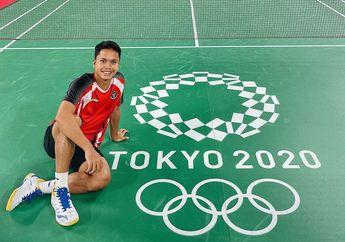 Olimpiade Tokyo 2020 - Berharap Bisa Kontrol Pertandingan Lagi, Ginting Jaga Fokus