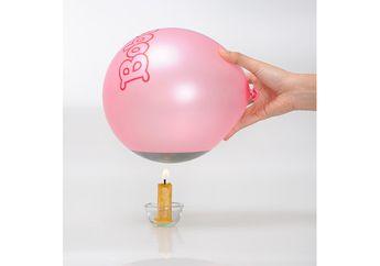 Balon Dibakar Tidak Meletus
