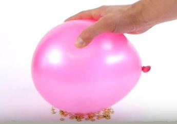Rahasia Balon Tak Mempan Ditusuk Paku