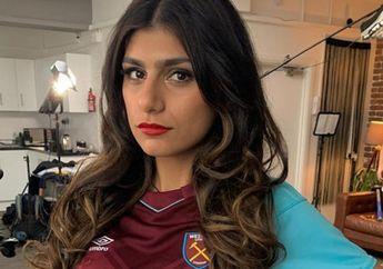 Terkenal Sebagai Fan West Ham, Mia Khalifa Ikut Aksi Bela Palestina