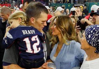 Jelang Super Bowl LIII, Gisele Bundchen Berikan Suntikan Semangat untuk Tom Brady