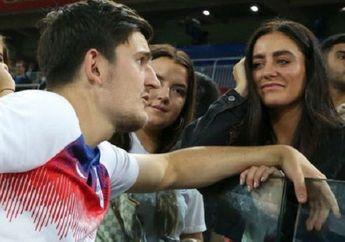 EURO 2020 - Rindu 5 Pekan Tak Bertemu, Tunangan Harry Maguire: Begini Saja Sudah Bahagia!