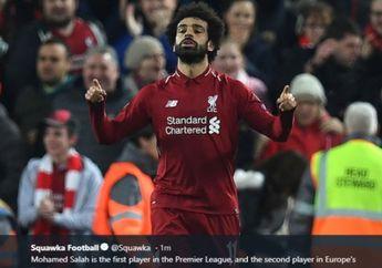 Mohamed Salah Hapus Akun Twitternya, Dampak dari Peselisihan dengan Federasi Sepak Bola Mesir?