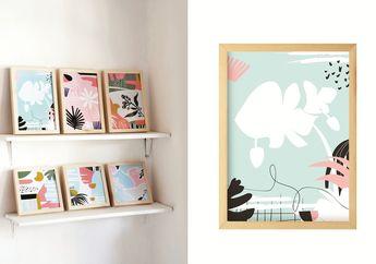 Bikin Mood Membaik dengan Wall Art di Ruang Tamu, Lihat yuk Inspirasinya!
