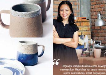 Berbuah Manis, Beginilah Asal Mula Ayu Larasati Terjun ke Dalam Seni Keramik