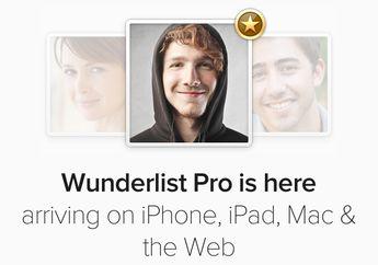 Ulasan Wunderlist Versi Pro Yang Ditunggu-tunggu