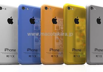 (Rumor) iPhone Murah Banyak Warna, iPhone 5S Dual-LED Flash dan iPad 5th Gen