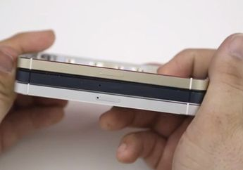 Video Perbandingan iPhone 5S Emas Dengan iPhone 5C dan iPhone 5