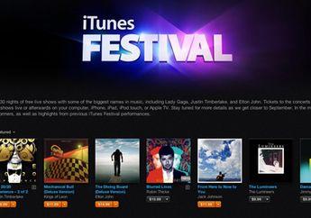 Lady Gaga Mengisi Hari Pertama iTunes Festival 2013