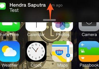 Cara Mengusir Notifikasi Yang Muncul Tiba-Tiba di iOS 7