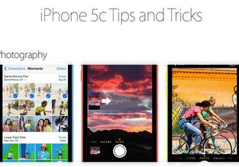 Apple Merilis Laman Tips & Trik iPhone 5s, iPhone 5c dan iPhone 4s