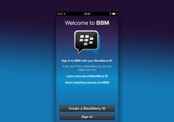 Blackberry Segera Hadirkan Pembaruan BBM Versi 2.2