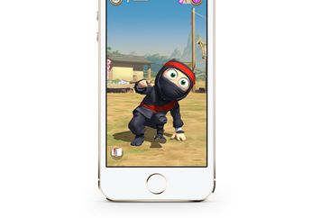 Akhirnya, Clumsy Ninja Resmi Hadir Buat iPhone, iPad dan iPod Touch