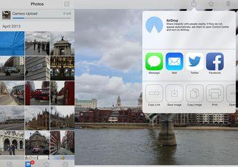 Update Dropbox: Desain Baru iOS 7, AirDrop dan Lebih Cepat