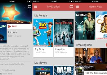 Google Play Movies & TV Hadir di App Store