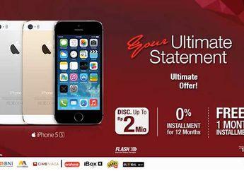 Bundling iPhone 5s & iPhone 5c Telkomsel, Diskon Harga Hingga 2 Juta!