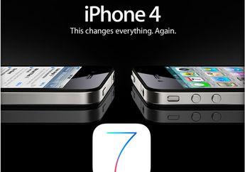 Ternyata iOS 7.1 Membuat iPhone 4 'Berjalan' Lebih Cepat