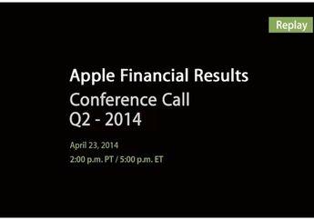 Laporan Keuangan dan Penjualan Apple Kuartal ke-2, 2014