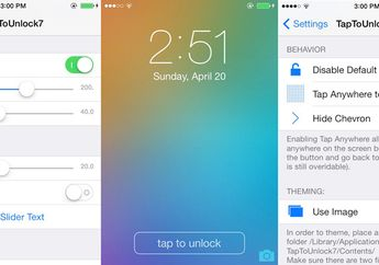"Tweak TapToUnlock7: Menyederhanakan Lagi Proses ""Slide To Unlock"""