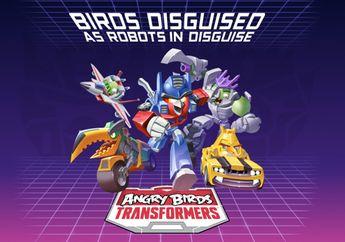 Tandai Kalender Kamu, Angry Birds Transformers Rilis Bulan Depan