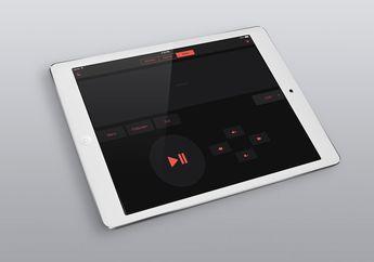TouchPad Hadirkan Antarmuka iOS 7 dan Dark Theme