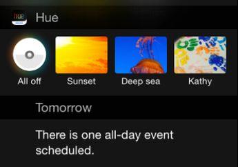 Philips Menghadirkan Konsep Widget Sistem Pencahayaan Buat iOS 8
